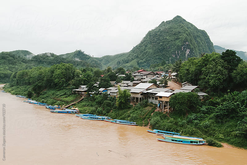 Laos river by Cameron Zegers for Stocksy United