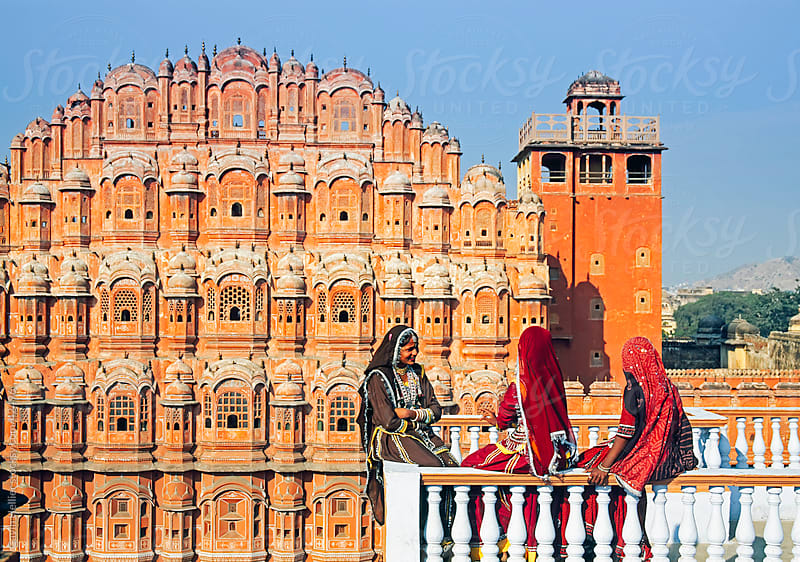 Hawa Mahal (Palace of the Winds), built in 1799, Jaipur, Rajasthan, India by Gavin Hellier for Stocksy United