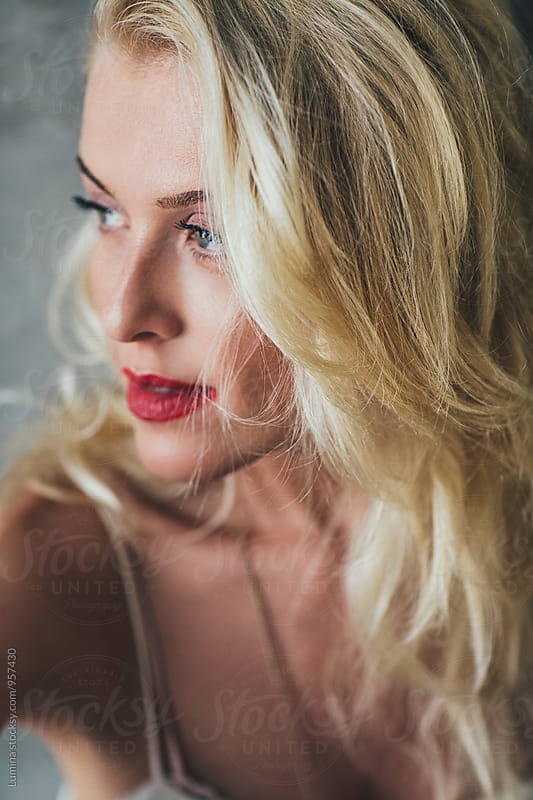 Portrait of Beautiful Woman by Lumina for Stocksy United