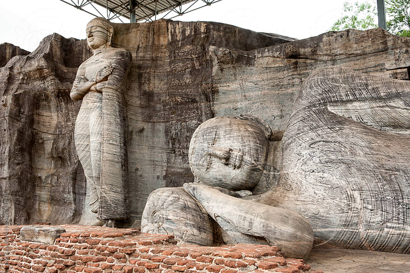 Polonnaruwa Ancient City of Sri Lanka by Jino Lee for Stocksy United