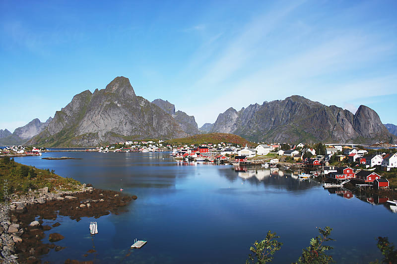 Lofoten Island, Norway by Luca Pierro for Stocksy United