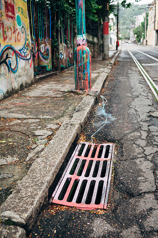 Street graffiti by Gabriel Tichy for Stocksy United