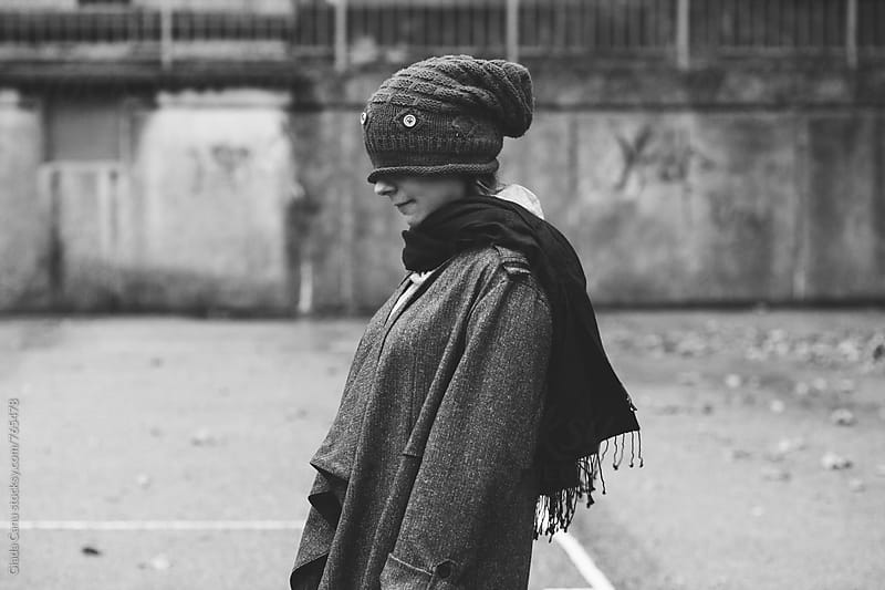Woman in cozy clothes by Giada Canu for Stocksy United