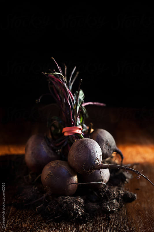 Baby beetroot. by Darren Muir for Stocksy United