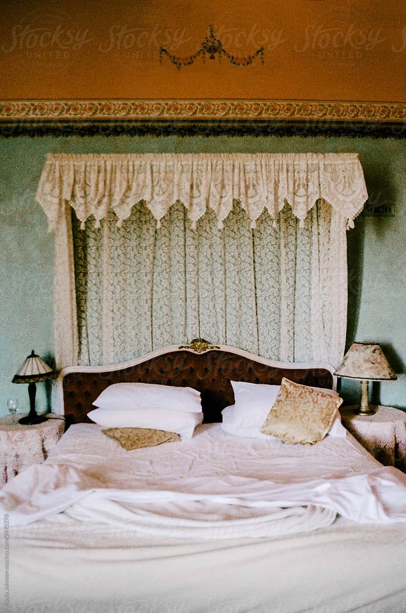 Victorian Era Bedroom By Kayla Johnson Stocksy United