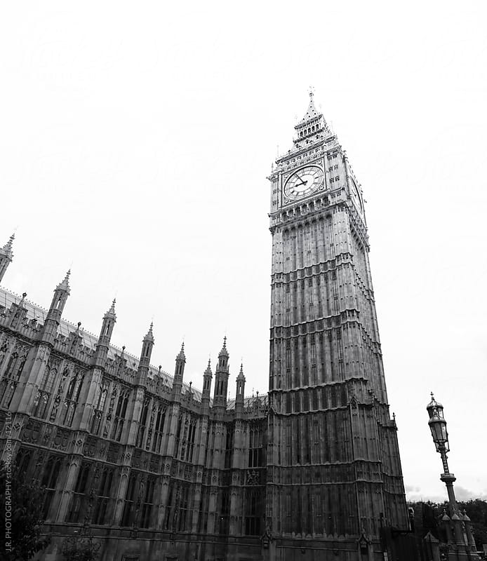 Big Ben by J.R. PHOTOGRAPHY for Stocksy United