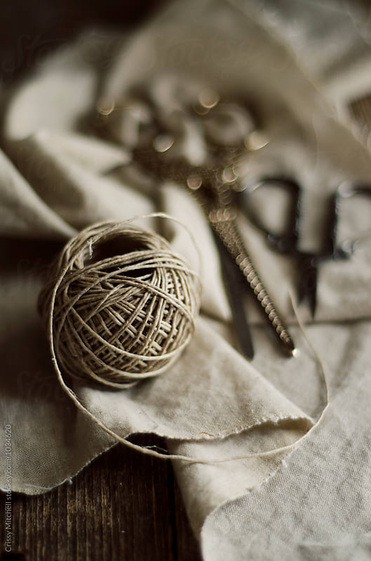 ball of twine by Crissy Mitchell for Stocksy United