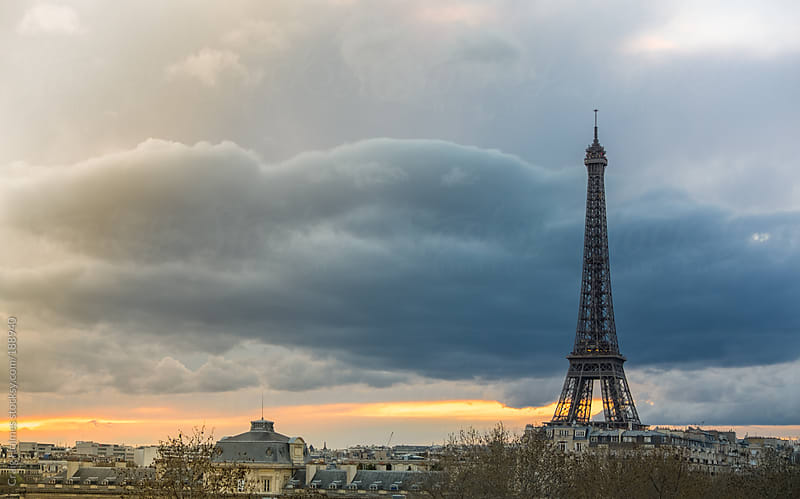 The Eiffel Tower, Paris, France. by Craig Holmes for Stocksy United