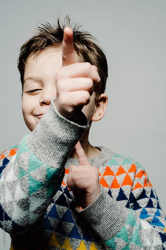 Finger Guns! by Cameron Whitman for Stocksy United