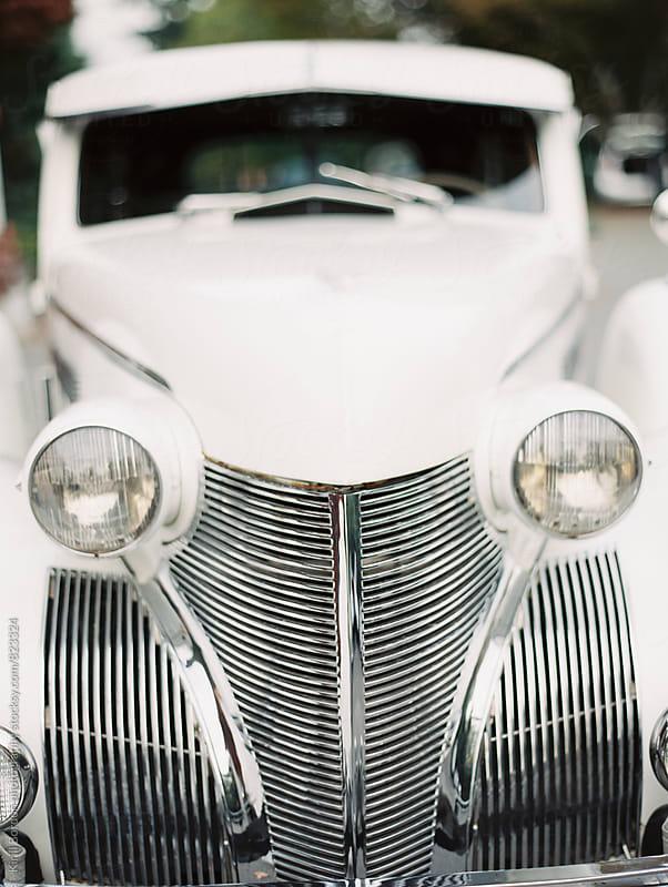 classic wedding car by Kirill Bordon photography for Stocksy United