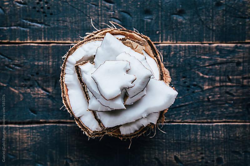 Broken Coconut by Gabriel (Gabi) Bucataru for Stocksy United