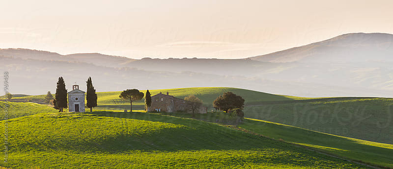 House and chapel in Tuscany by Marilar Irastorza for Stocksy United