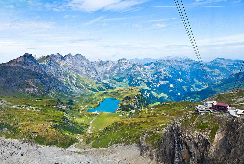 The Alps from the Titlis Peak by VICTOR TORRES for Stocksy United