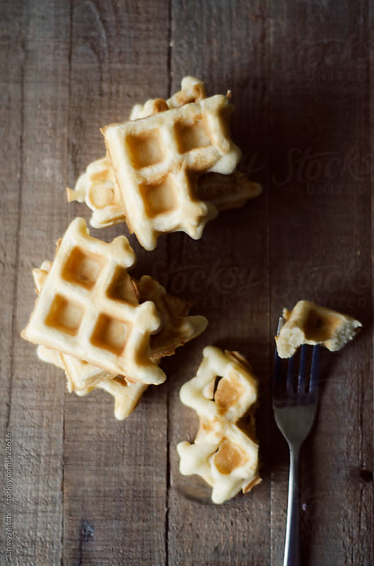 waffles by Crissy Mitchell for Stocksy United