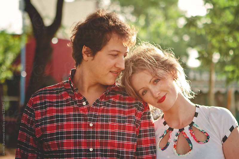 Couple Portrait by Jayme Burrows for Stocksy United