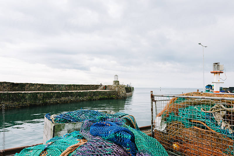 Pittenweem Harbour by Jen Grantham for Stocksy United