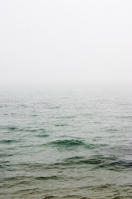 Misty Ocean by Alex Hibbert for Stocksy United