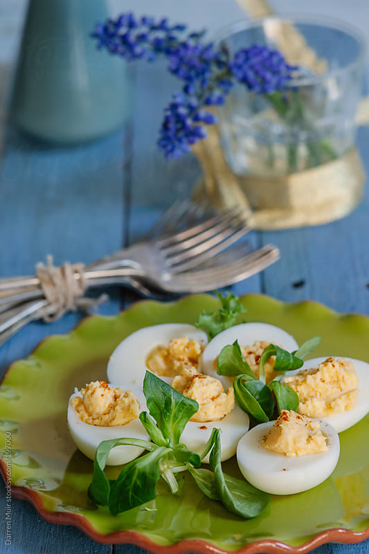 Deviled Eggs. by Darren Muir for Stocksy United
