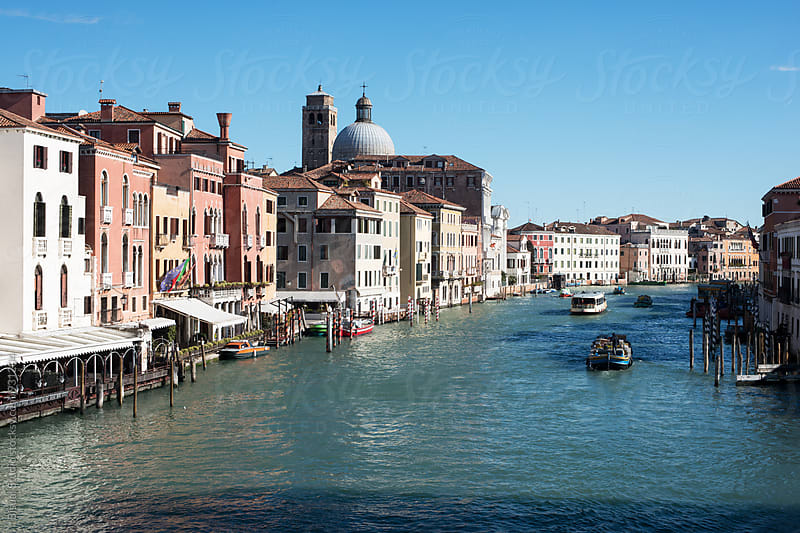 View of the Grand Canal in Venice by Bisual Studio for Stocksy United