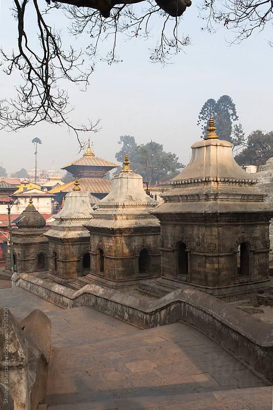 Pashupatinath Temple, Kathmandu, Nepal. by Shikhar Bhattarai for Stocksy United