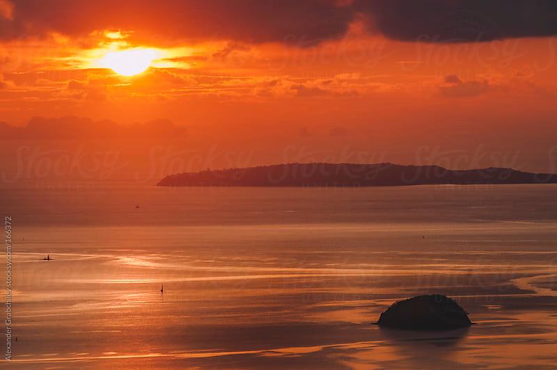 beautiful sunrise  by Alexander Grabchilev for Stocksy United
