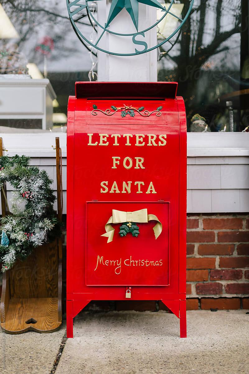 Letters For Santa Mailbox | Stocksy United