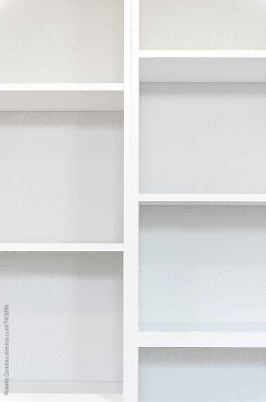 White Shelves by Ronnie Comeau for Stocksy United