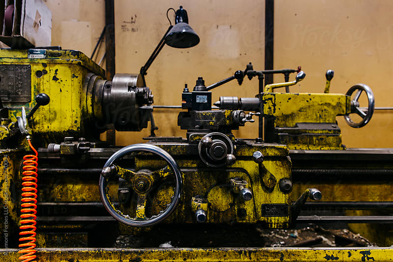 Lathe by Raymond Forbes LLC for Stocksy United