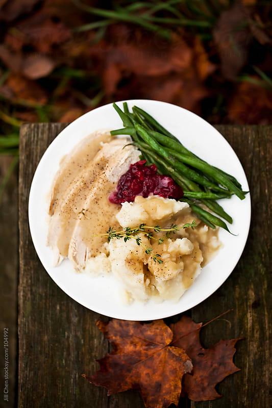 Thanksgiving Dinner by Jill Chen for Stocksy United
