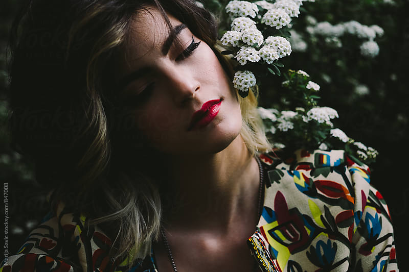 Woman in Nature by Marija Savic for Stocksy United