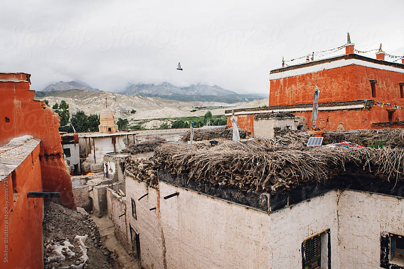 Jampa Gompa (Monastery) in Lo Manthang, Upper Mustang. by Shikhar Bhattarai for Stocksy United