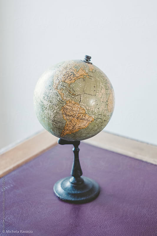 Old globe by michela ravasio for Stocksy United