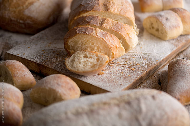 Loaves of Bread and Buns by Studio Six for Stocksy United