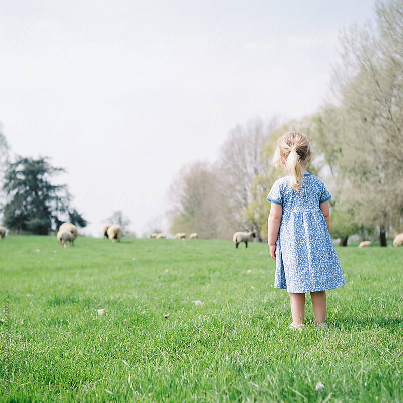Young Girl Admiring Nature by Andrew Spencer for Stocksy United