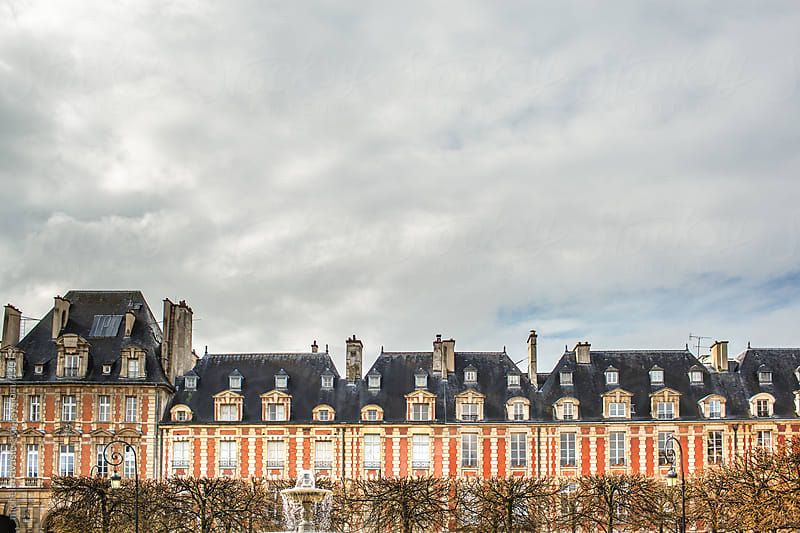 Famous roofs of Paris by michela ravasio for Stocksy United