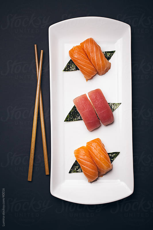 Nigiri Sushi by Lumina for Stocksy United