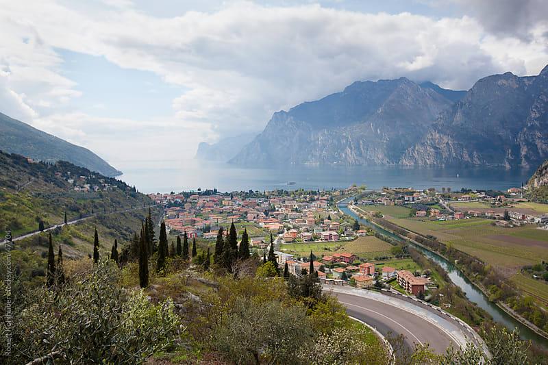 Lake Garda in italy by Robert Kohlhuber for Stocksy United