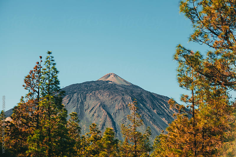 Teide Peak in Tenerife, Canary Islands by VICTOR TORRES for Stocksy United