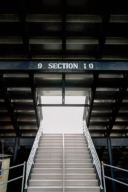 Football Stadium Entrance by Raymond Forbes LLC for Stocksy United