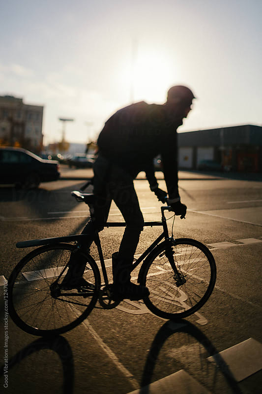 Bicycle Lane by Good Vibrations Images for Stocksy United