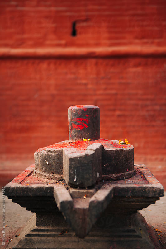 Shiva Linga. by Shikhar Bhattarai for Stocksy United