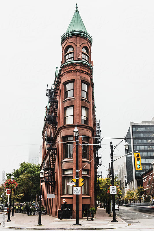 Toronto Flat Iron Building  by Cameron Whitman for Stocksy United