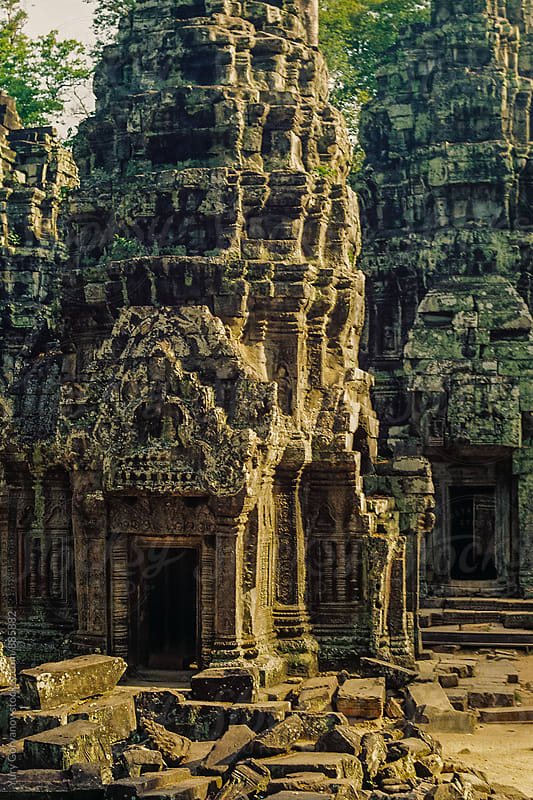 Ancient temple. Angkor Wat. by Yury Goryanoy for Stocksy United