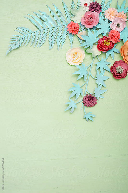 Floral background by Alita Ong for Stocksy United