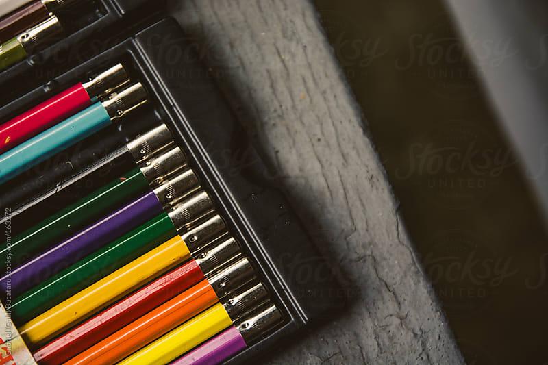 Colored Pencils by Gabriel (Gabi) Bucataru for Stocksy United