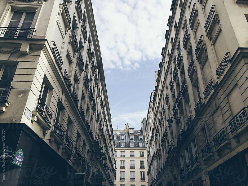 Parisian buildings by Tommaso Tuzj for Stocksy United