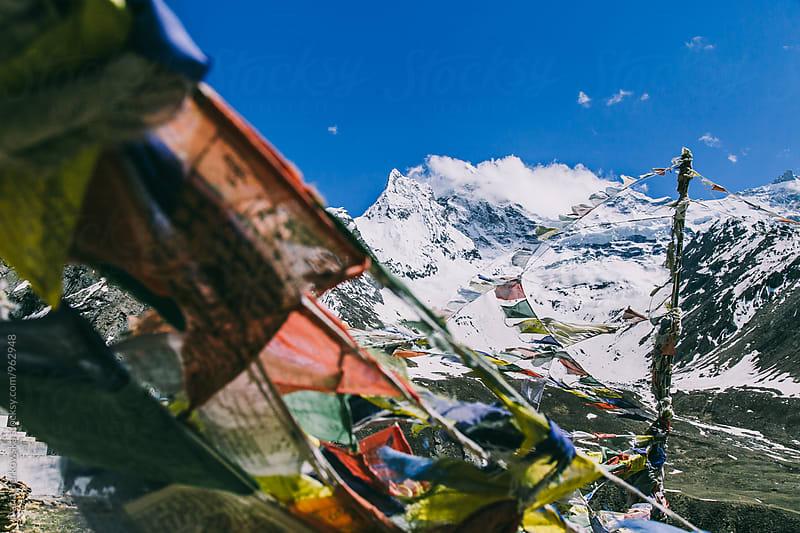 Mountains of Zanskar Valley by Daria Berkowska for Stocksy United