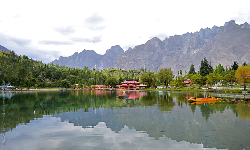 Shangrila Lake, Sakardu  by Agha Waseem Ahmed for Stocksy United