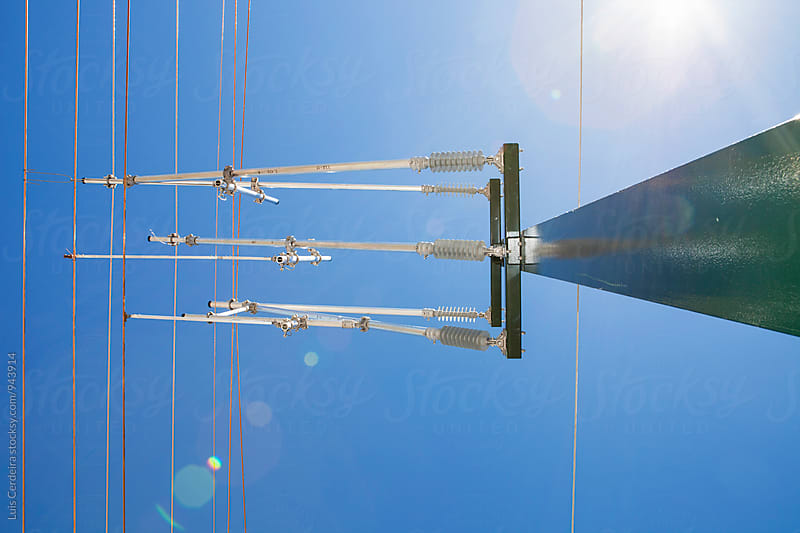 Overhead line by Luis Cerdeira for Stocksy United