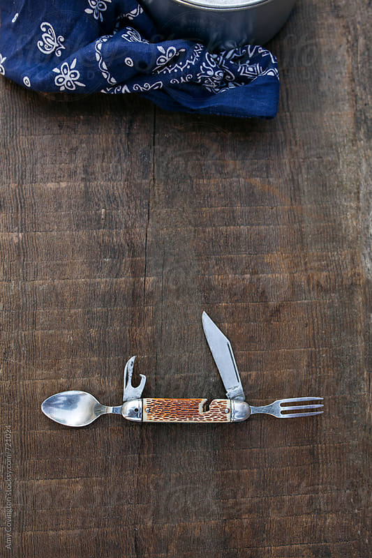 Vintage pocket knife by Amy Covington for Stocksy United